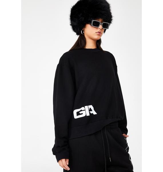 I AM GIA Taja Reflective Sweater