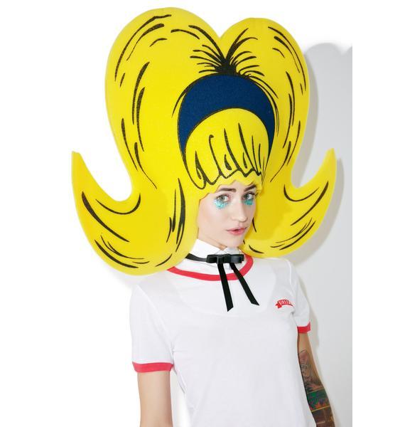 Barb Bouffant Foam Wig