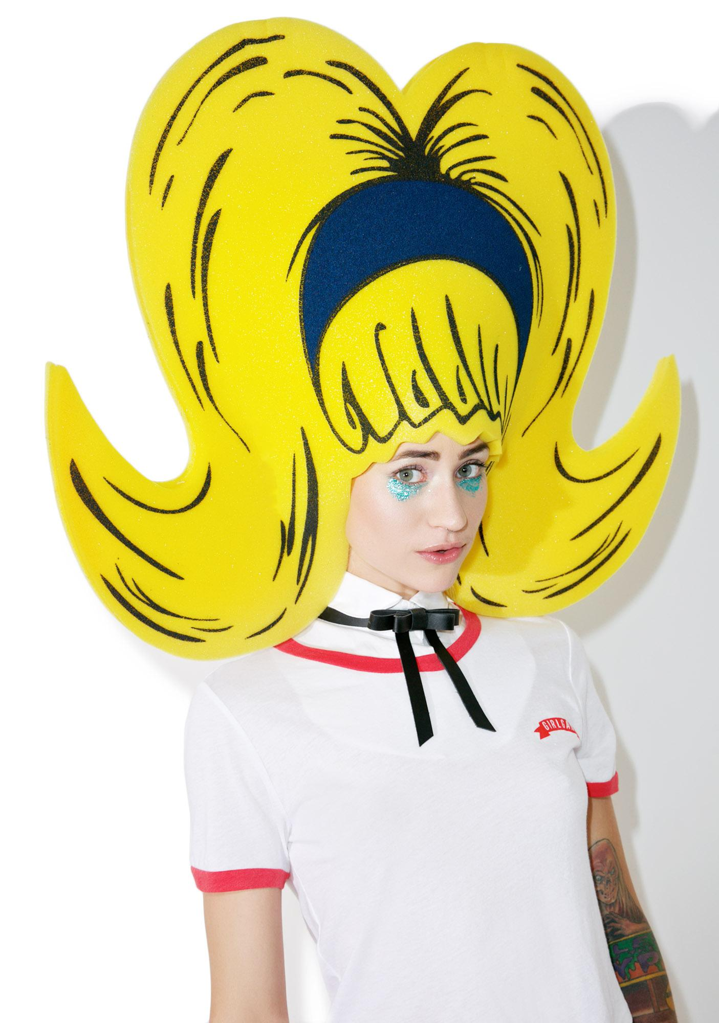 Barb Bouffant Foam Wig