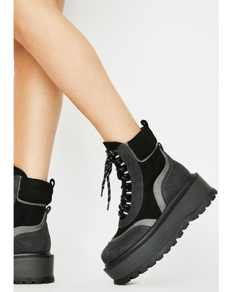 Orpheus Platform Boots