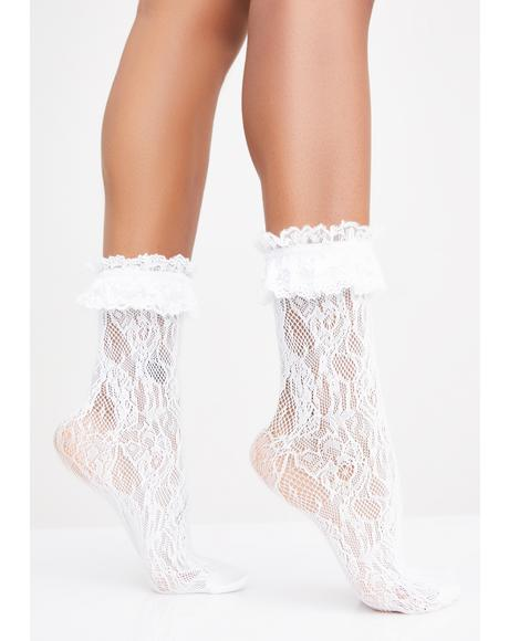 Romantica Lace Socks