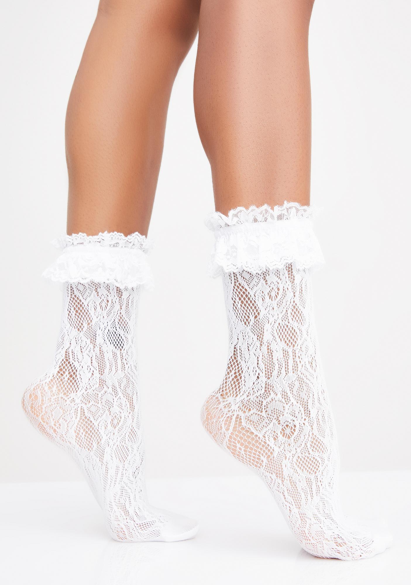 Romantica Lace Socks