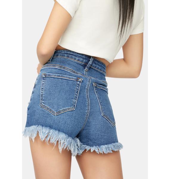 See The Setting Sun Denim Shorts