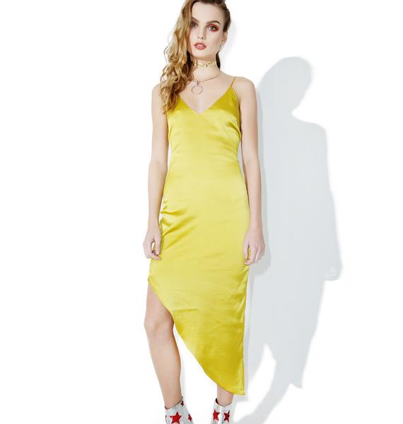 Golden Sun Slip Dress