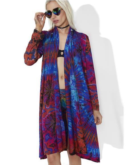 Renee Tie-Dye Kimono