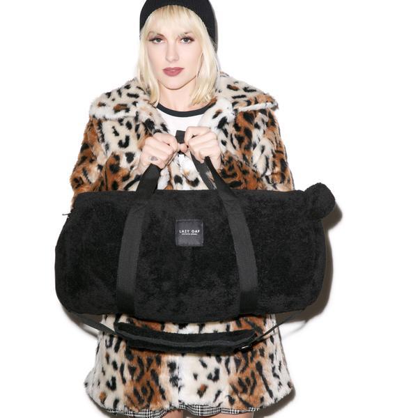 Lazy Oaf Barrel Bear Carry All Bag