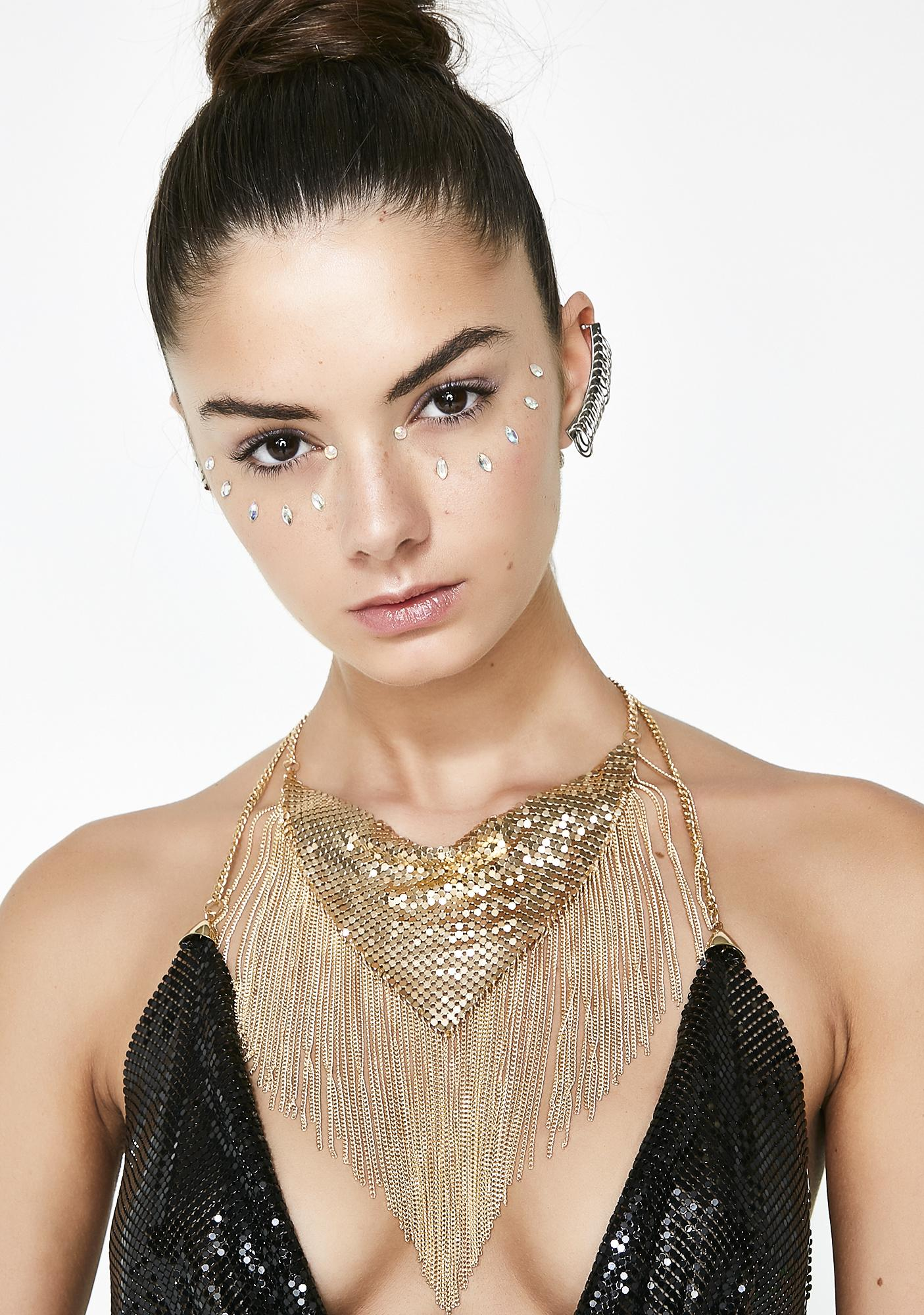 Bandit Babe Chainmail Necklace