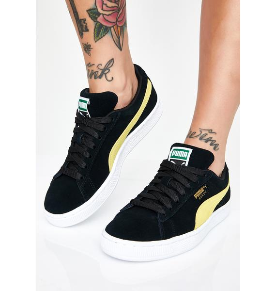 PUMA Midnight Suede Classic Sneakers