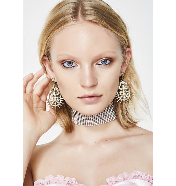 Shocked To See U Teardrop Earrings