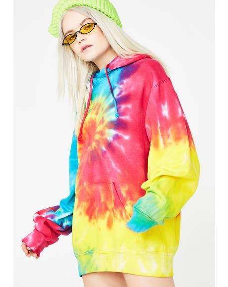 Chill Out Tie Dye Hoodie
