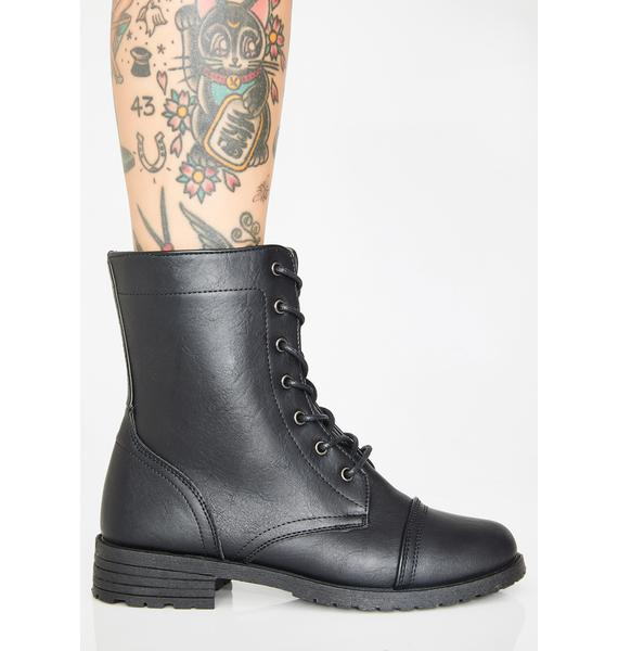 Seek And Destroy Combat Boots