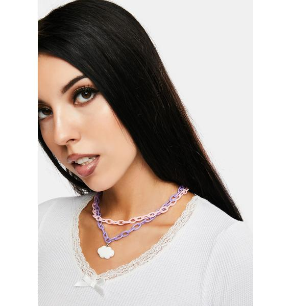 Don't Stop Dreaming Chain Necklace