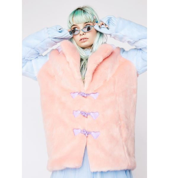 Sugar Thrillz Sweet Luvin' Fuzzy Coat