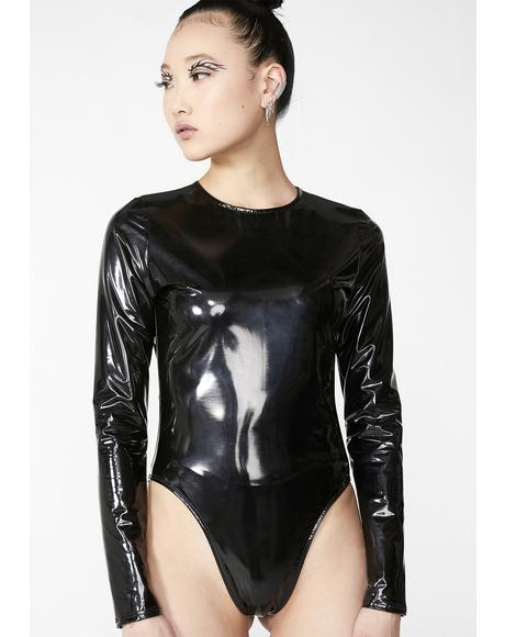 Warp Speed Vinyl Bodysuit