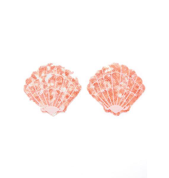 Neva Nude Moana Sequin Shell Pasties