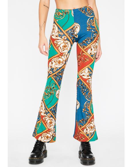 Now I'm Royalty Paisley Flares