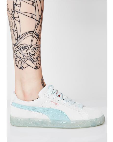 Suede Classic Glitz Sneakers