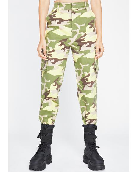Different Wave Camo Pants