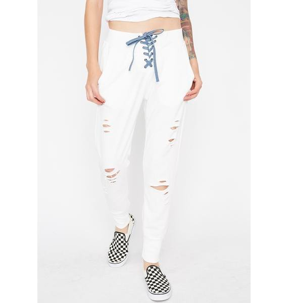 Renegade Of Funk Distressed Joggers