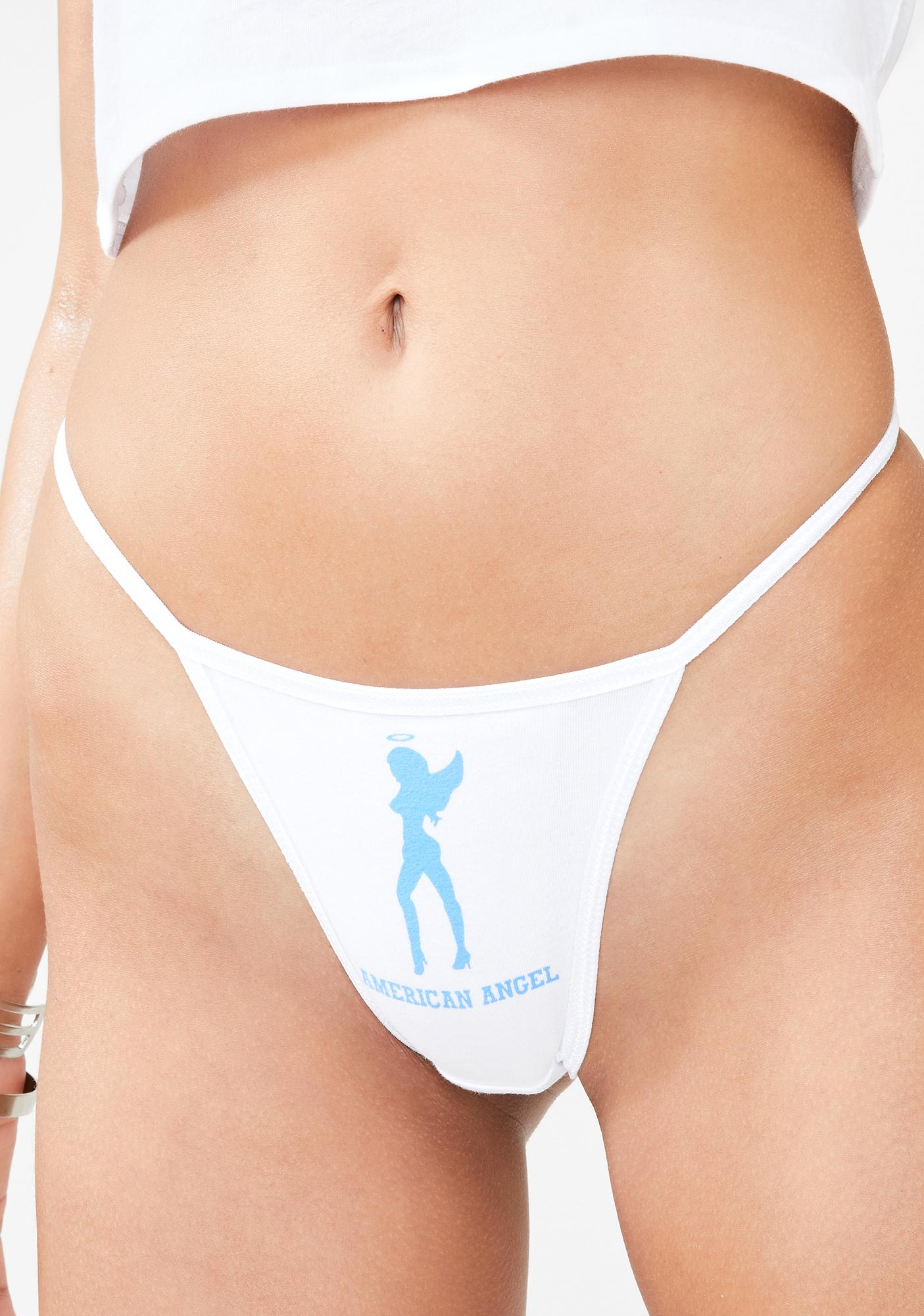 not another label American Angel Thong Panties