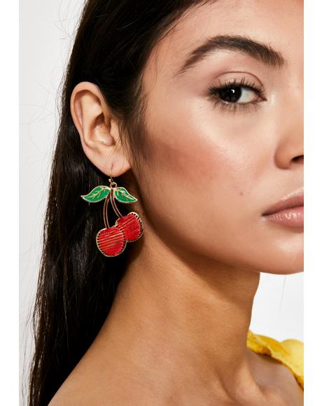 Poppin' Cherries Earrings
