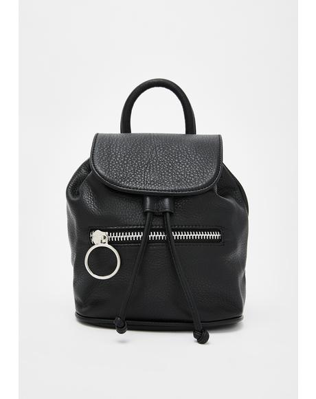 Messin' Around Leather Backpack