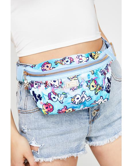 Watercolor Paradise Fanny Pack