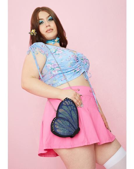 Britney Butterfly Crossbody Bag