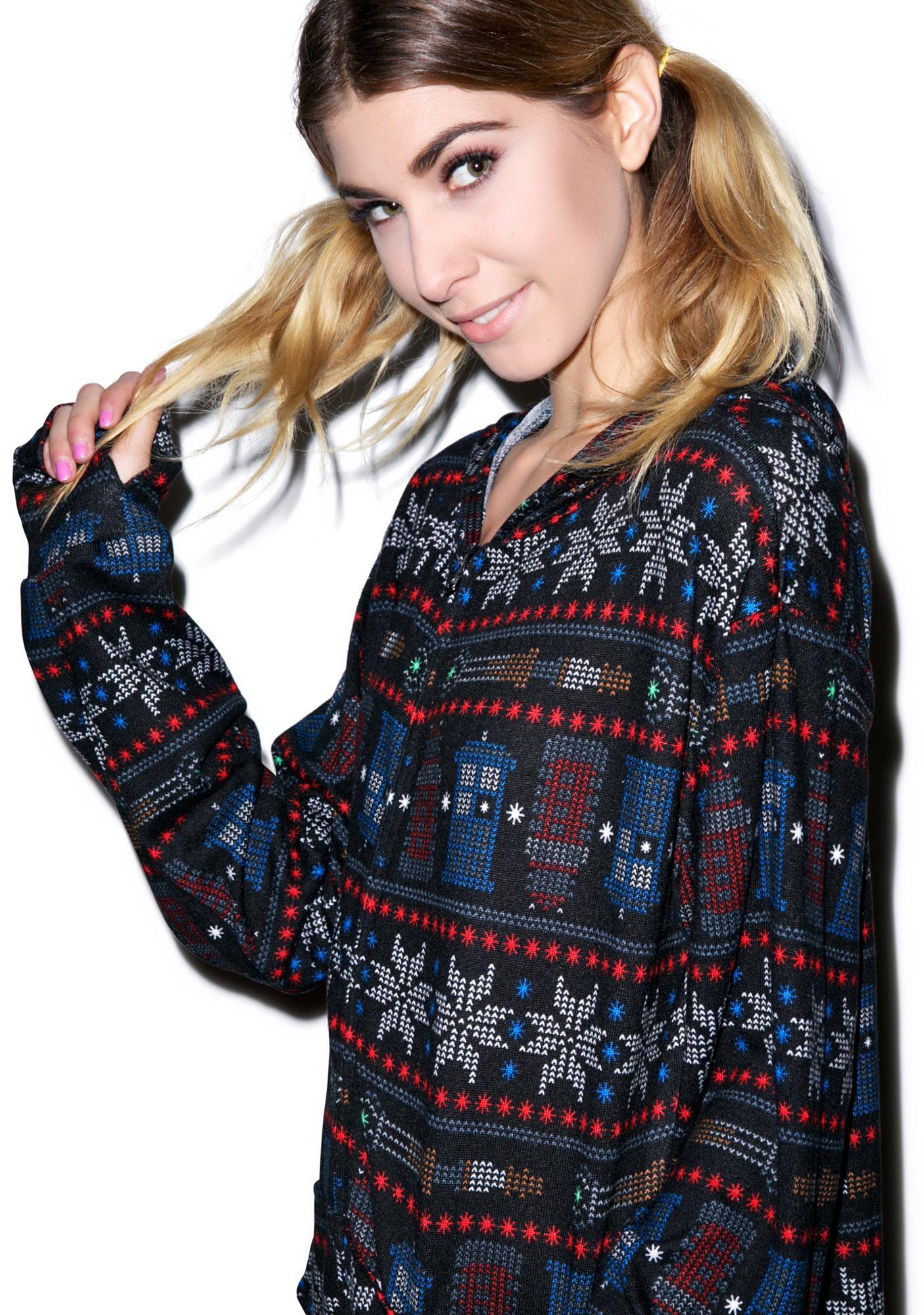 Undergirl Doctor Who Snow Flake Onsie