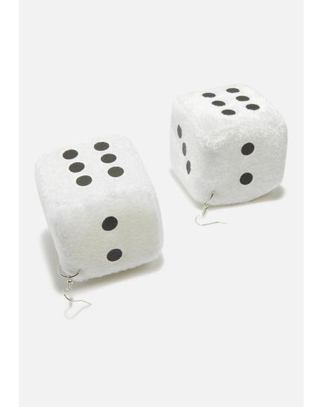 Try My Luck Dice Earrings