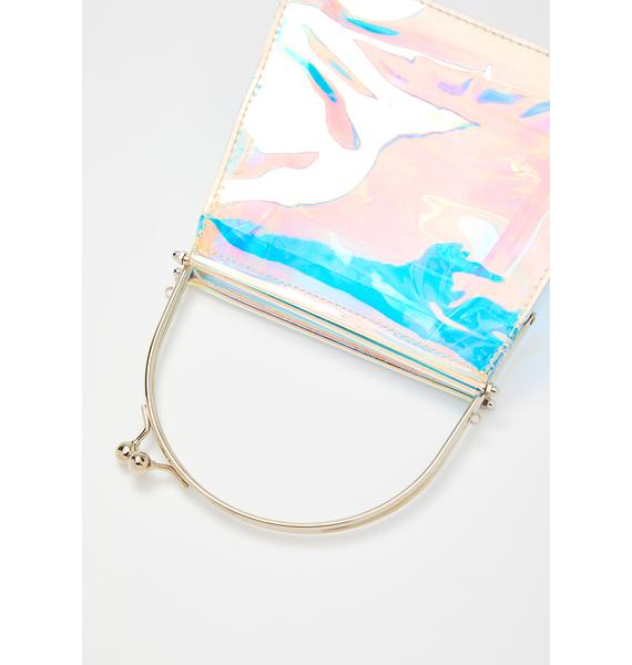 Mystic Illusions Holographic Handbag