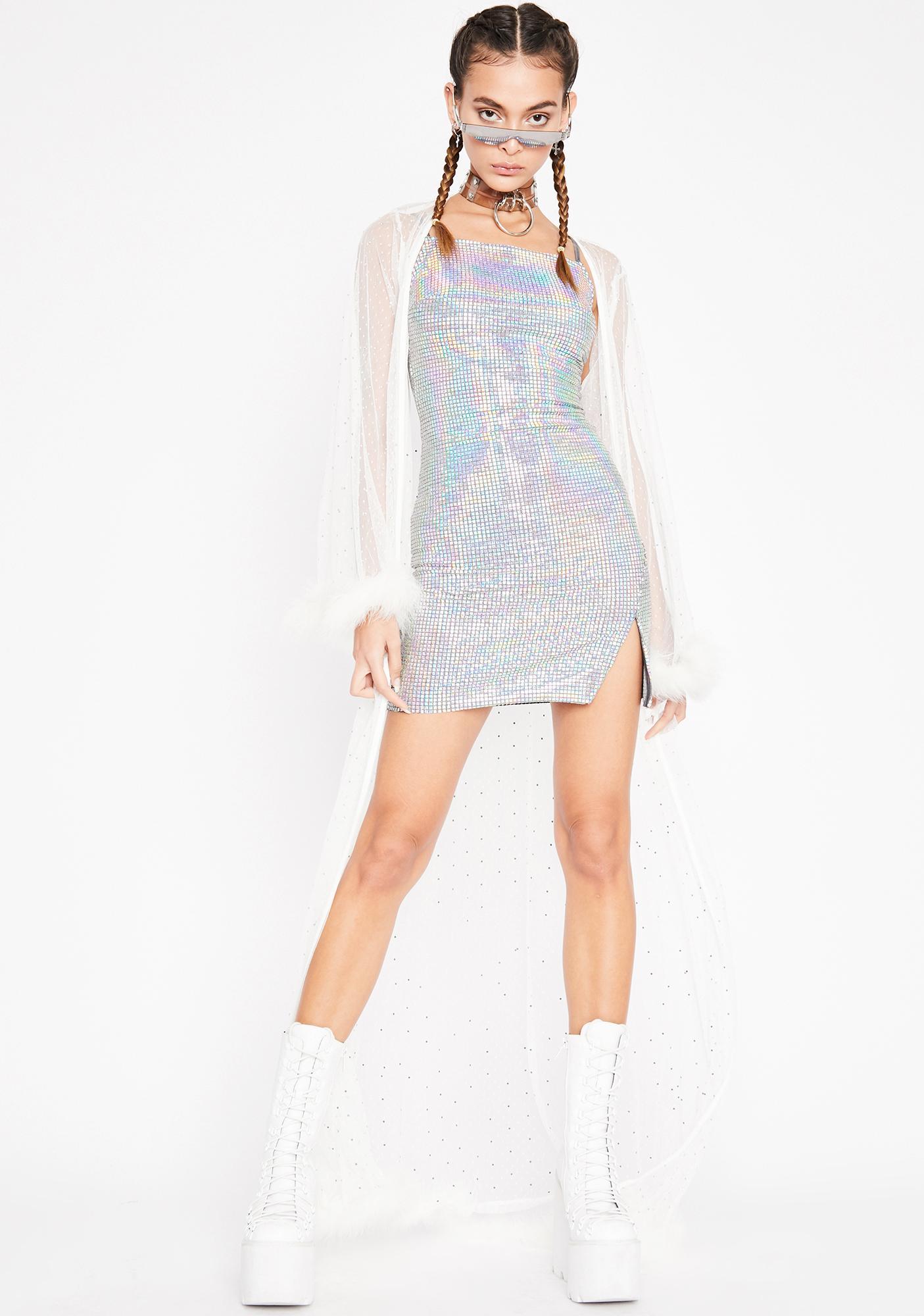 Disco Lemonade Mini Dress