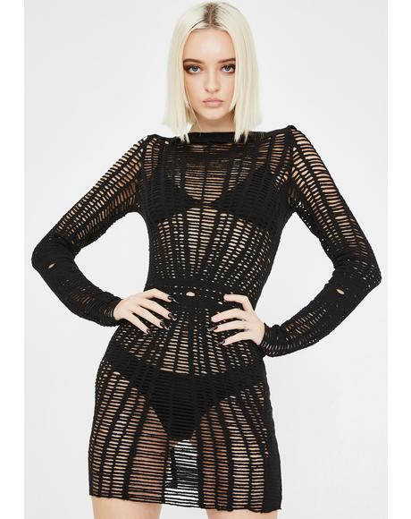 Risque Rampage Mesh Dress