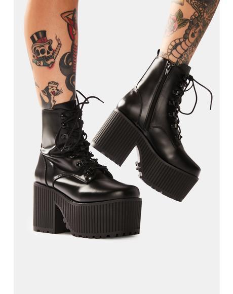 Creep Platform Boots