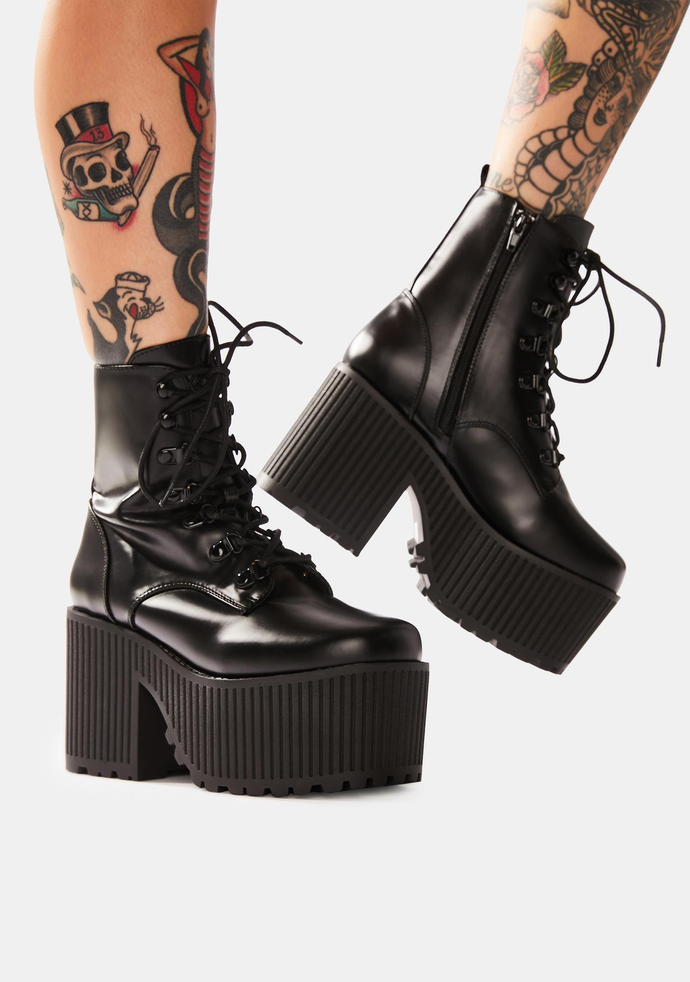 Y.R.U. Creep Platform Boots