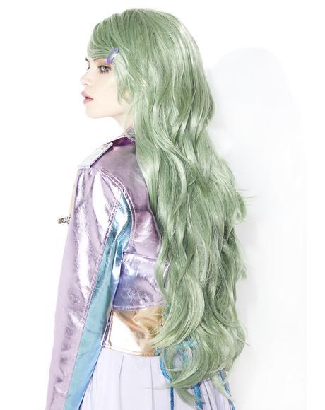 Serene Greenz Wavy Wig