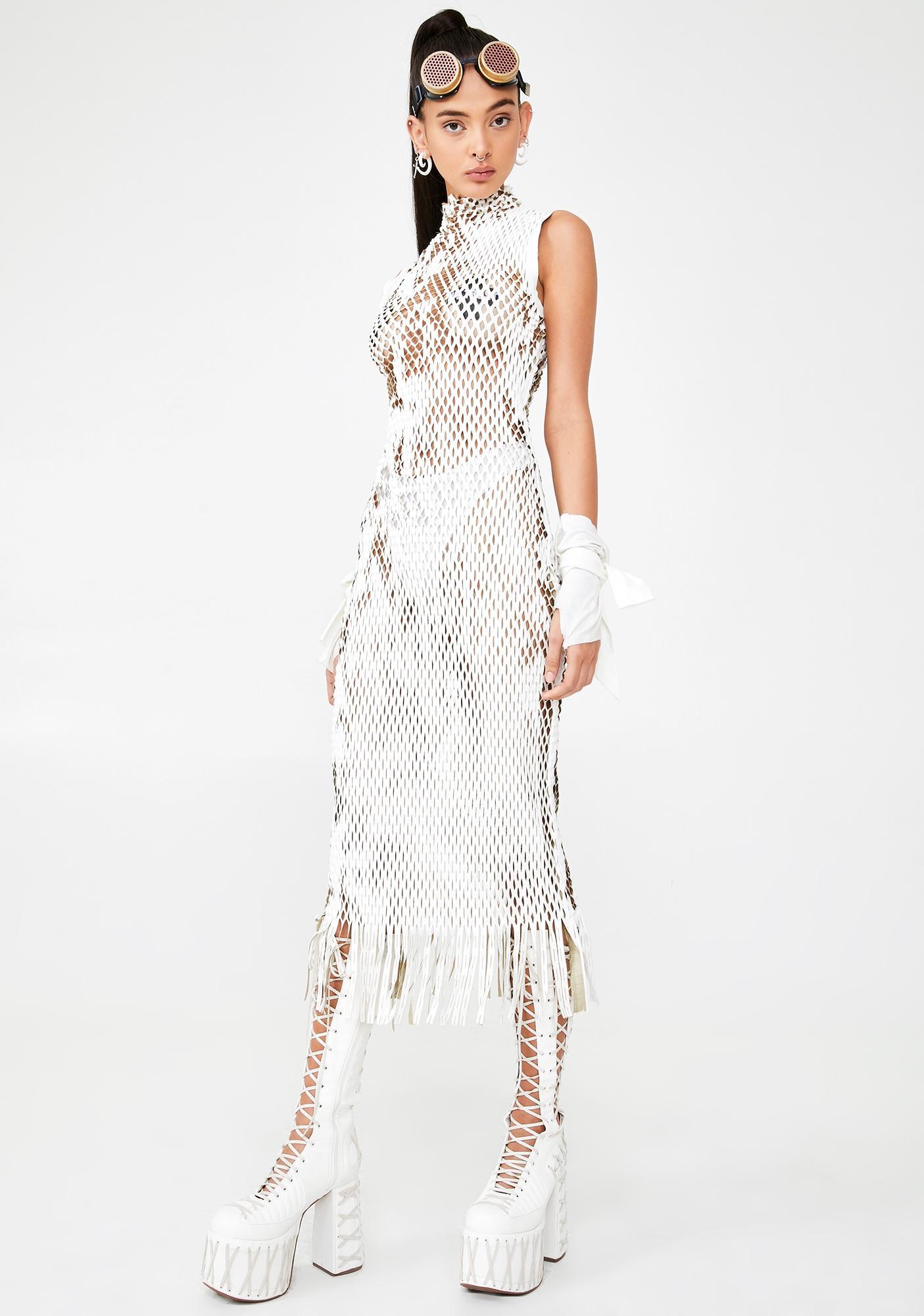 Kiki Riki Dysphoria Dream Fishnet Dress