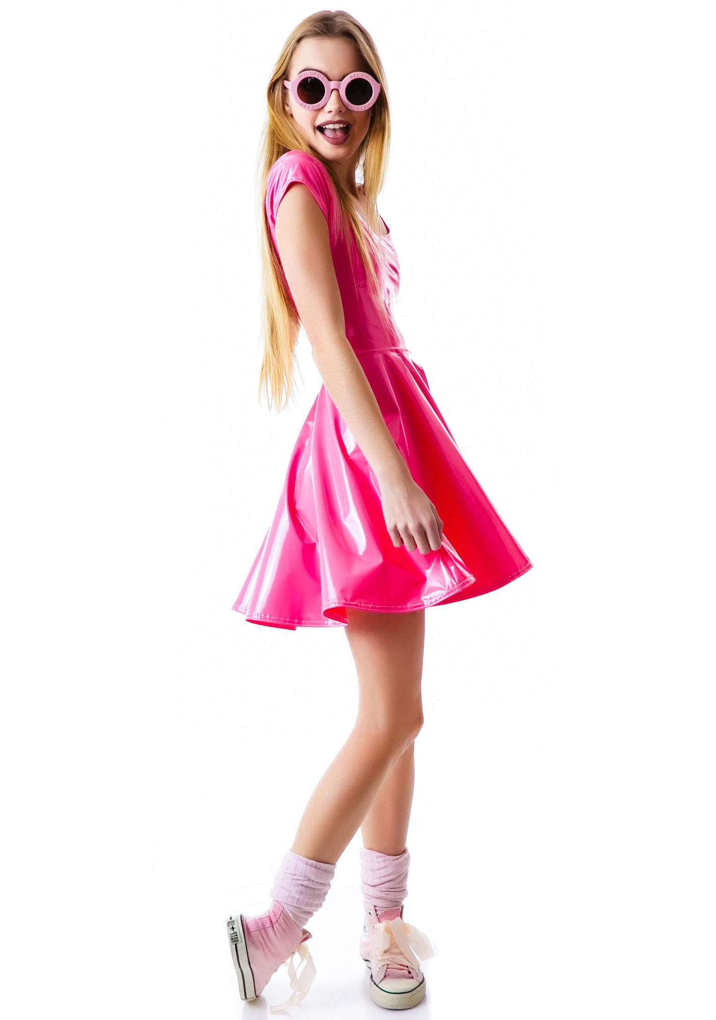 Bubblicious Skater Dress