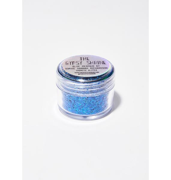 The Gypsy Shrine Blue Mermaid Glitter