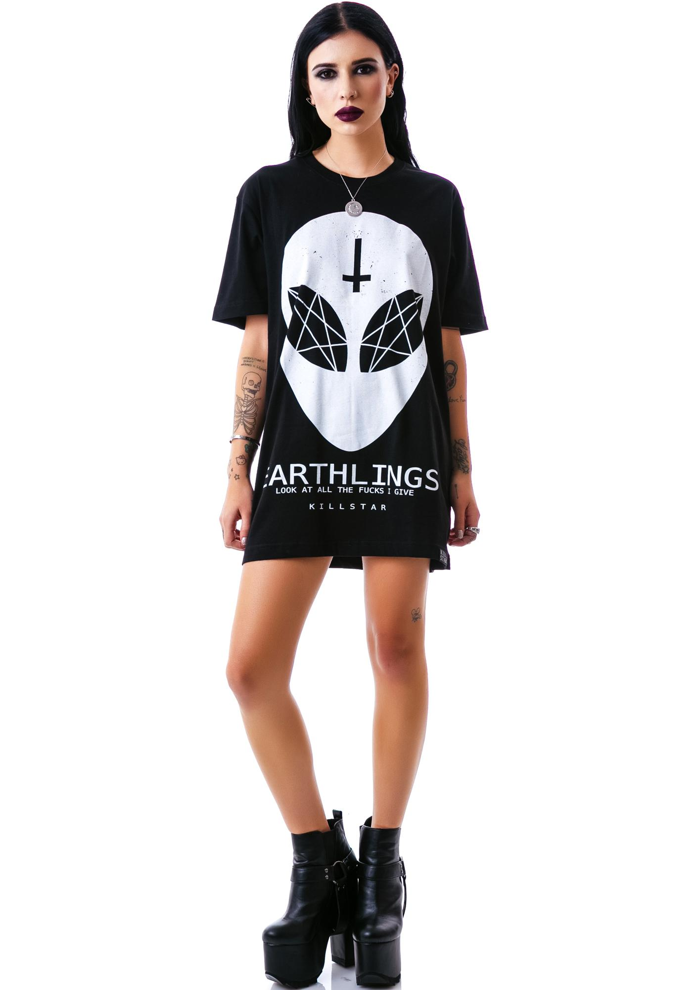 Killstar Earthlings T Shirt
