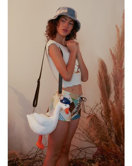 Miss Gosling Goose Crossbody Bag