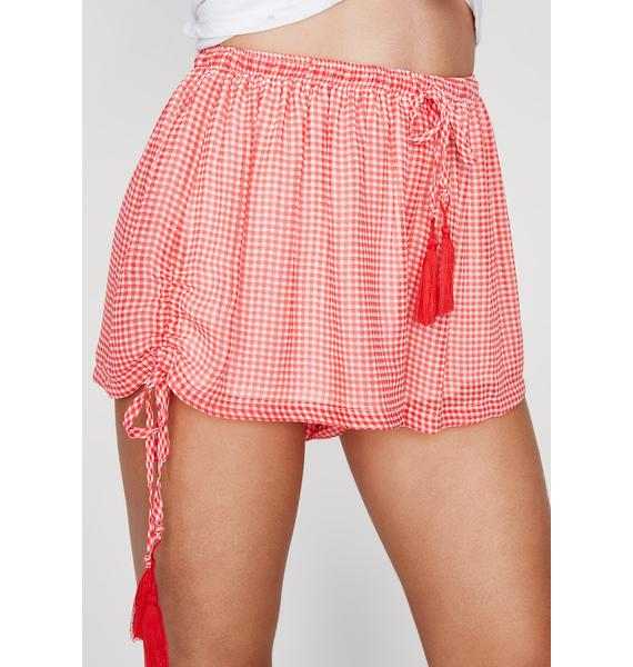 Tall Tale Gingham Shorts