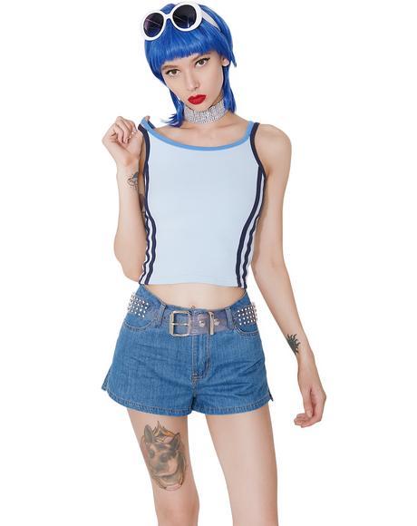Vintage Blue Cami Top