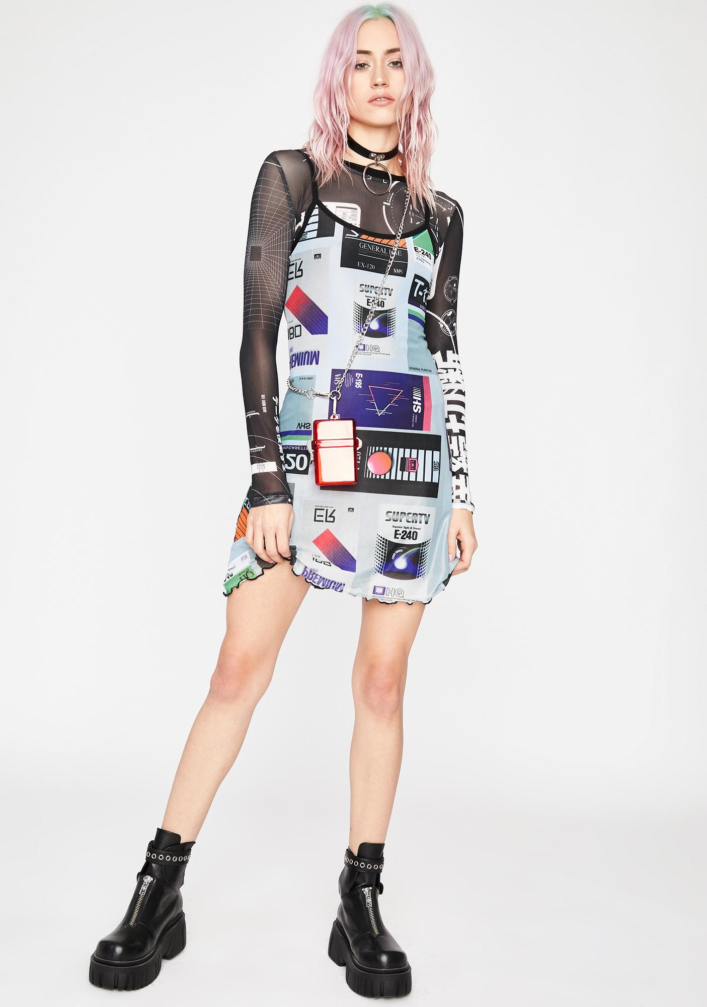 Current Mood Video Vixen Mini Dress