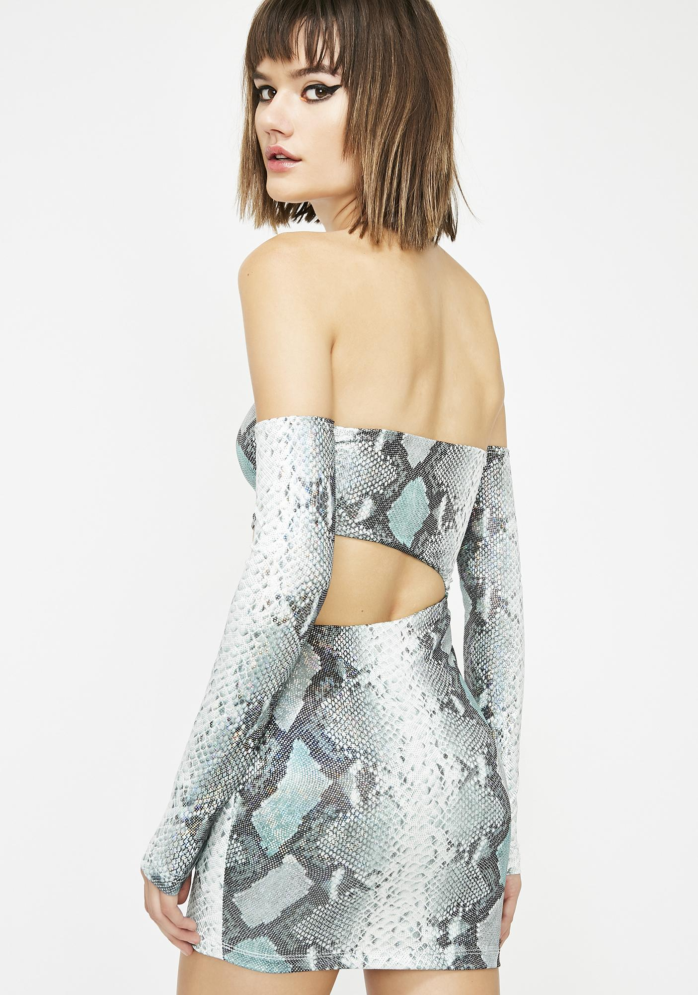 Toxic Temptress Hologram Dress