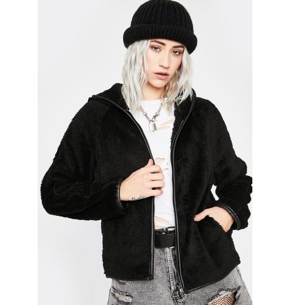 Talk About It Hooded Jacket