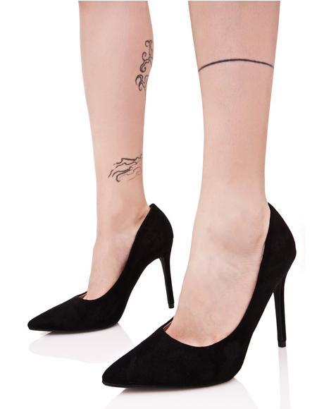 Onyx Power & Glory Heels