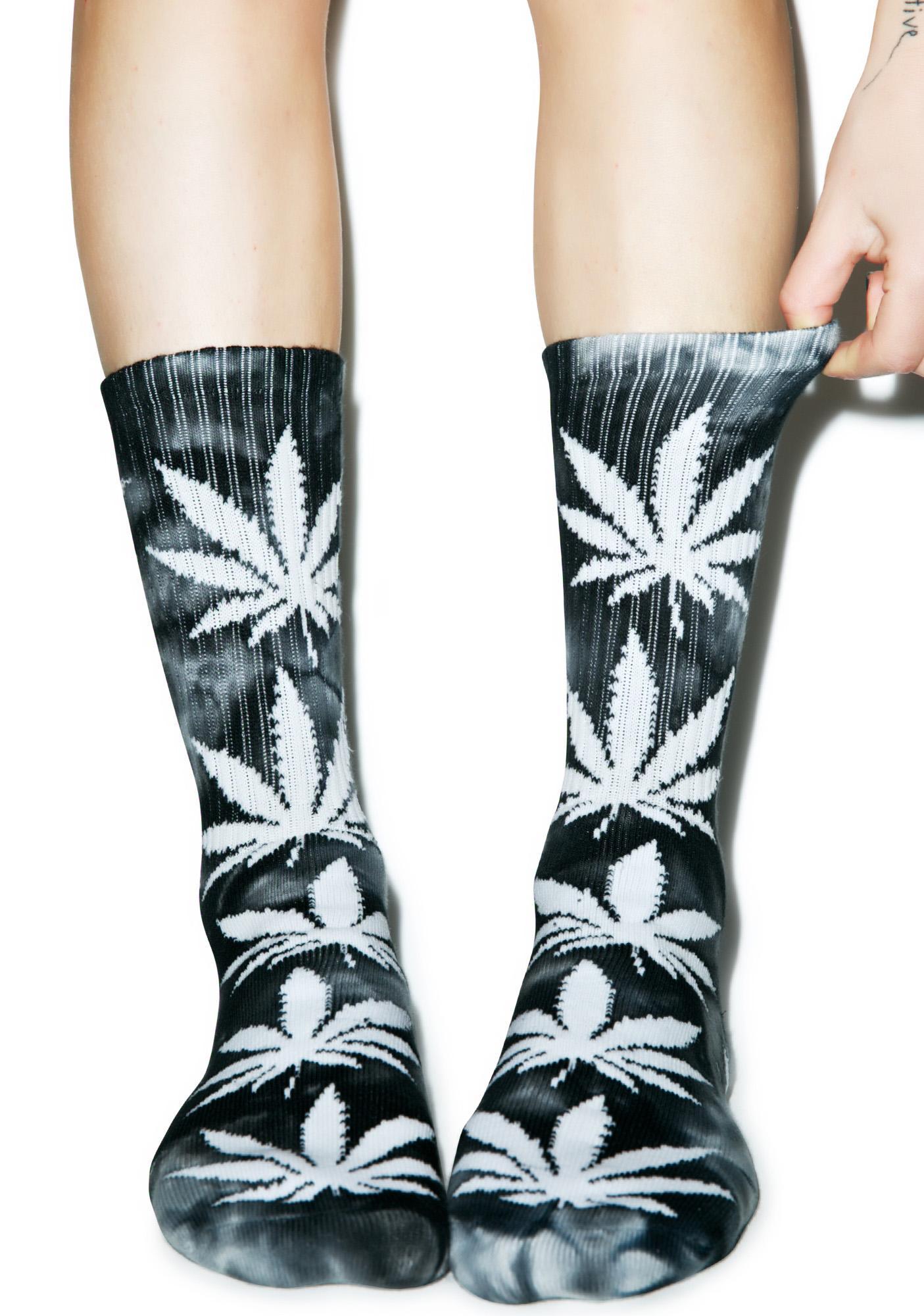 d8625826319 HUF Tie Dye Plantlife Crew Sock ...