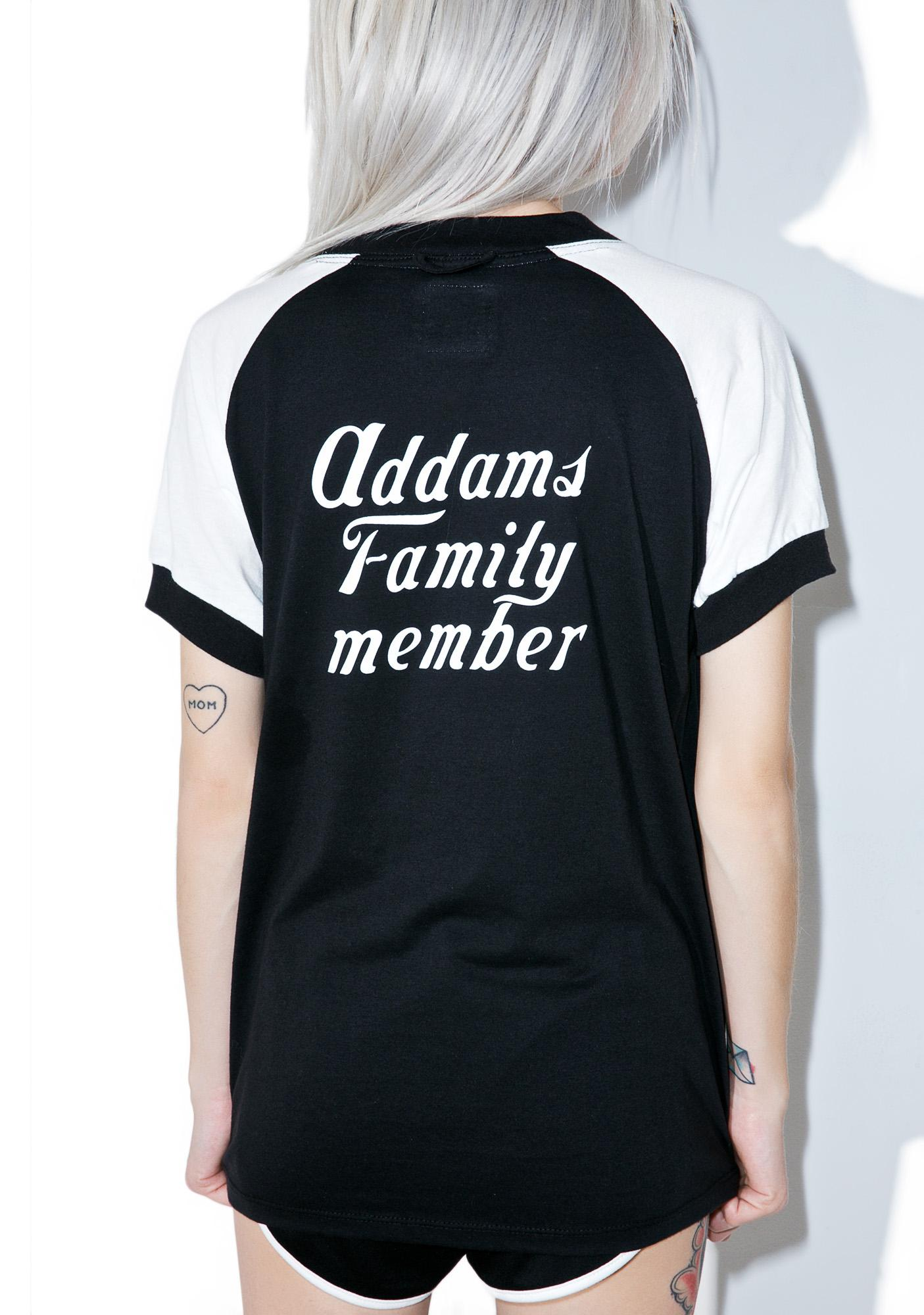 Camp Collection Addams Family Tee