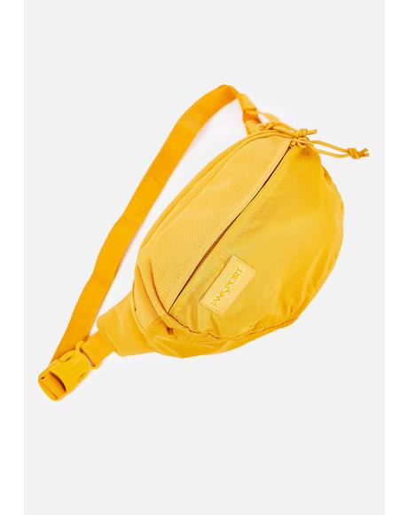 English Mustard Mono Fifth Avenue Fanny Pack